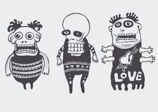 αστείος κώδικας χαρακτή&r Στοκ Φωτογραφίες