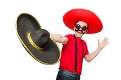 Αστείος μεξικανός Στοκ Εικόνα