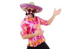 Αστείος μεξικανός Στοκ φωτογραφία με δικαίωμα ελεύθερης χρήσης