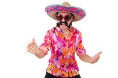 Αστείος μεξικανός Στοκ Φωτογραφία
