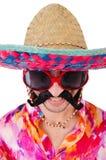 Αστείος μεξικανός Στοκ εικόνα με δικαίωμα ελεύθερης χρήσης