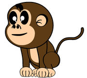 αστείος πίθηκος Στοκ φωτογραφία με δικαίωμα ελεύθερης χρήσης