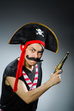 αστείος πειρατής Στοκ εικόνες με δικαίωμα ελεύθερης χρήσης