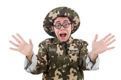 Αστείος στρατιώτης Στοκ Εικόνα