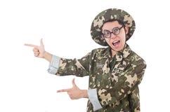 Αστείος στρατιώτης Στοκ εικόνα με δικαίωμα ελεύθερης χρήσης