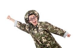 Αστείος στρατιώτης Στοκ εικόνες με δικαίωμα ελεύθερης χρήσης