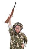 Αστείος στρατιώτης Στοκ Φωτογραφίες