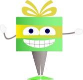 Αστείος χαρακτήρας δώρων Ελεύθερη απεικόνιση δικαιώματος