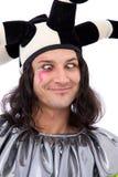 αστείος jester πλακατζής Στοκ Φωτογραφίες