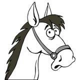 αστείο άλογο έκπληκτο απεικόνιση αποθεμάτων