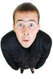 αστείο άτομο βλεμμάτων επάνω Στοκ εικόνες με δικαίωμα ελεύθερης χρήσης