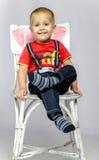 Αστείο αγόρι Στοκ Φωτογραφία