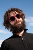 αστείο αρσενικό πορτρέτο Στοκ φωτογραφίες με δικαίωμα ελεύθερης χρήσης