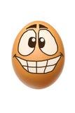 Αστείο αυγό Στοκ Εικόνες