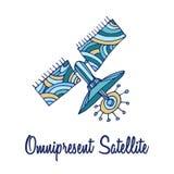 Αστείο διαστημικό σύμβολο απεικόνιση αποθεμάτων