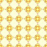 Αστείο κίτρινο και πορτοκαλί dendelion Στοκ Φωτογραφίες