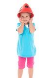 αστείο καπέλο παιδιών επ&iota Στοκ Εικόνες