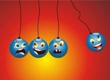 αστείο κινητό εκκρεμές Newton &kap Στοκ εικόνες με δικαίωμα ελεύθερης χρήσης