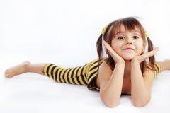 αστείο κορίτσι λίγα Στοκ εικόνα με δικαίωμα ελεύθερης χρήσης
