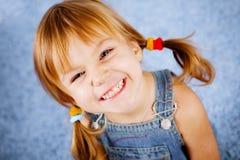 αστείο κορίτσι λίγα Στοκ εικόνες με δικαίωμα ελεύθερης χρήσης