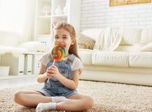 αστείο κορίτσι παιδιών Στοκ φωτογραφία με δικαίωμα ελεύθερης χρήσης