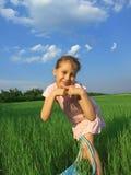 αστείο κορίτσι στοκ εικόνα