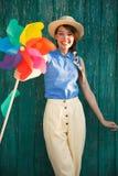 αστείο κορίτσι Στοκ εικόνα με δικαίωμα ελεύθερης χρήσης
