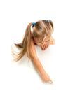 Αστείο μικρό κορίτσι Στοκ Εικόνες