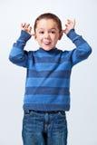 Αστείο μικρό παιδί στοκ φωτογραφίες