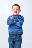 Αστείο μικρό παιδί στοκ εικόνες με δικαίωμα ελεύθερης χρήσης