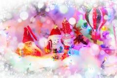 Αστείο ντεκόρ Χριστουγέννων Στοκ εικόνα με δικαίωμα ελεύθερης χρήσης