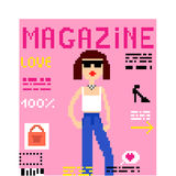 Αστείο περιοδικό κινούμενων σχεδίων στοκ φωτογραφία