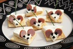 Αστείο ποντίκι τροφίμων Στοκ φωτογραφία με δικαίωμα ελεύθερης χρήσης