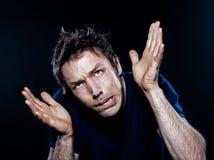αστείο πορτρέτου ατόμων π&omic Στοκ Εικόνες