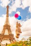 Αστείο ταξίδι Παρίσι ουρανού Στοκ Φωτογραφίες