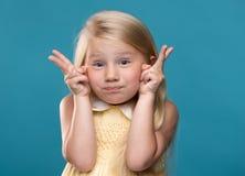 Αστείο, όμορφο νέο κορίτσι Στοκ Εικόνες