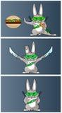 Αστείο Bunny Στοκ εικόνες με δικαίωμα ελεύθερης χρήσης