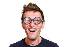 αστείο nerd στοκ φωτογραφία