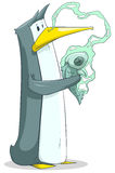 αστείο penguin Στοκ εικόνα με δικαίωμα ελεύθερης χρήσης