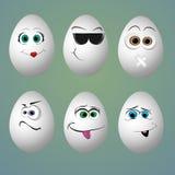 Αστείο smiley-αυγό Στοκ Φωτογραφίες