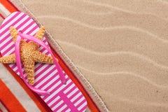Αστερίας σε ένα ράπισμα στην παραλία Στοκ φωτογραφίες με δικαίωμα ελεύθερης χρήσης