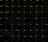 αστερισμοί Στοκ Εικόνα