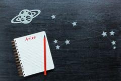 Αστερισμοί Aries Στοκ Φωτογραφίες