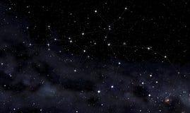 Αστερισμοί Centaurus και του λύκου Στοκ Φωτογραφίες