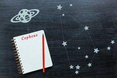 Αστερισμοί Cepheus Στοκ φωτογραφία με δικαίωμα ελεύθερης χρήσης