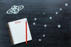 Αστερισμοί Grus Στοκ Εικόνες