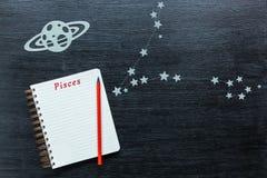 Αστερισμοί Pisces Στοκ εικόνες με δικαίωμα ελεύθερης χρήσης