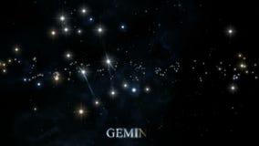 Αστερισμοί Zodiac διανυσματική απεικόνιση