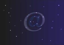Αστερισμός στο σύμβολο Στοκ εικόνα με δικαίωμα ελεύθερης χρήσης