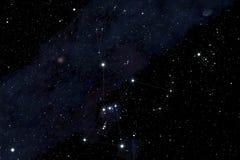 Αστερισμός του Orion Στοκ Φωτογραφία